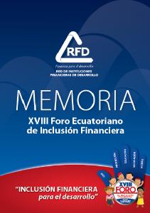 XVIII Foro Ecuatoriano de Inclusión Financiera
